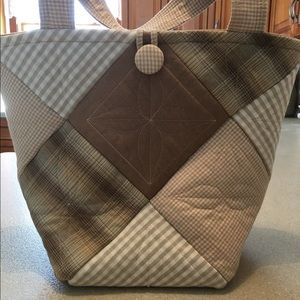 Handbags - Small quilted tote bag
